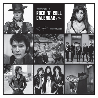 calendrier Terry O'Neill's Rock 'n' Roll 2017, PYRAMID POSTERS