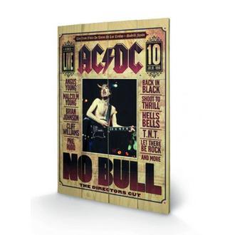 image en bois AC / DC - No Bull, PYRAMID POSTERS, AC-DC