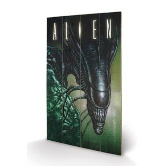 image en bois Alien - Creep - Pyramid Posters, PYRAMID POSTERS, Alien - Vetřelec