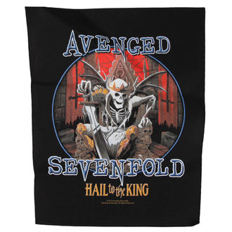 écusson Avenged Sevenfold - HAIL TO THE KING - RAZAMATAZ, RAZAMATAZ, Avenged Sevenfold