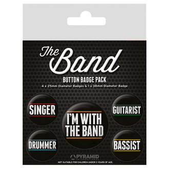 Badges The Band, PYRAMID POSTERS