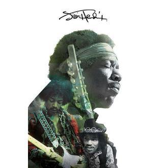 Affiche Jimi Hendrix - Double Exposure, PYRAMID POSTERS, Jimi Hendrix