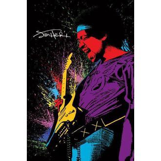 Affiche Jimi Hendrix - Paint, PYRAMID POSTERS, Jimi Hendrix