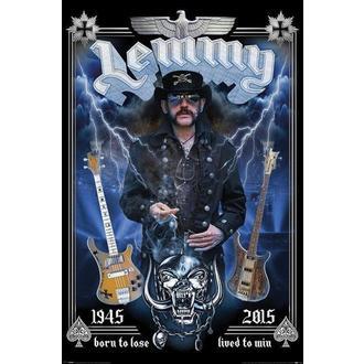Affiche Motorhead - Lemmy - Commémoratif, PYRAMID POSTERS, Motörhead