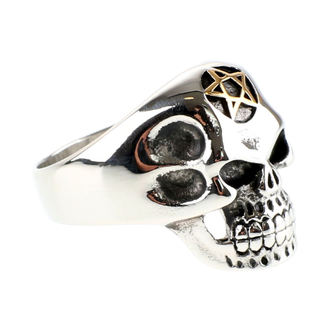 bague ETNOX - Big Pentagram Skull, ETNOX