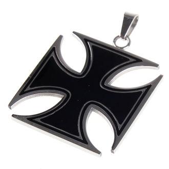 Collier ETNOX - Black Iron Cross, ETNOX