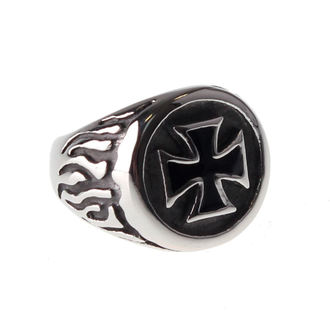 bague ETNOX - Black Iron Cross, ETNOX