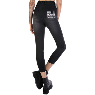 pantalon femmes DISTURBIA - Kiss My Ass, DISTURBIA