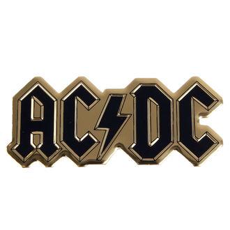 autocollant plus petit (métal) AC / DC - Logo, C&D VISIONARY, AC-DC