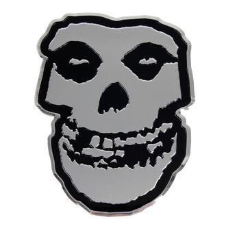 autocollant petit (métal) Misfits - Skull, C&D VISIONARY, Misfits
