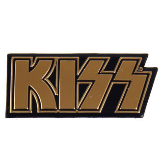 Sticker petit (métal) KISS - Logo, C&D VISIONARY, Kiss