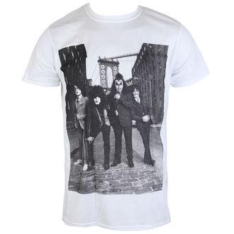 tee-shirt métal pour hommes Kiss - B&W CITY - LIVE NATION, LIVE NATION, Kiss