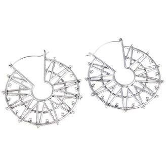 Des boucles d'oreilles INOX - 20G SPIKE, INOX