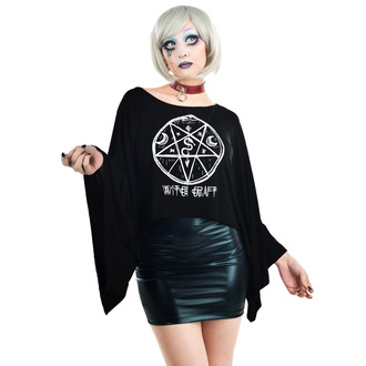 tee-shirt gothic et punk pour femmes - COVEN CAPE - TOO FAST, TOO FAST