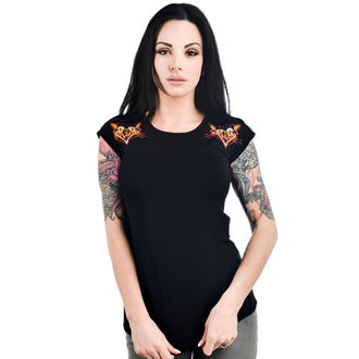 tee-shirt gothic et punk pour femmes - DAME - TOO FAST, TOO FAST