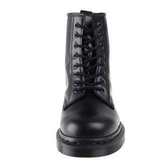 bottes en cuir unisexe - DM 1460 MONO BLACK SMOOTH - Dr. Martens, Dr. Martens