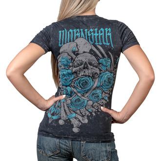 t-shirt hardcore pour femmes - Heartbreaking - WORNSTAR, WORNSTAR