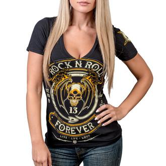 t-shirt hardcore pour femmes - Rock N Roll Forever - WORNSTAR, WORNSTAR