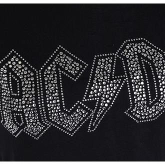 tee-shirt métal pour femmes AC-DC - Logo - ROCK OFF, ROCK OFF, AC-DC