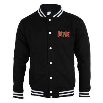 sweat-shirt sans capuche pour hommes AC-DC - Classic Logo - ROCK OFF, ROCK OFF, AC-DC