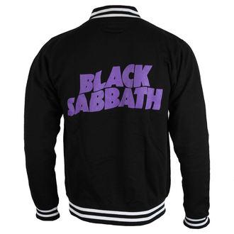sweat-shirt sans capuche pour hommes Black Sabbath - Wavy Logo - ROCK OFF, ROCK OFF, Black Sabbath