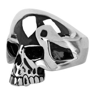 bague INOX - skull w/teethout, INOX