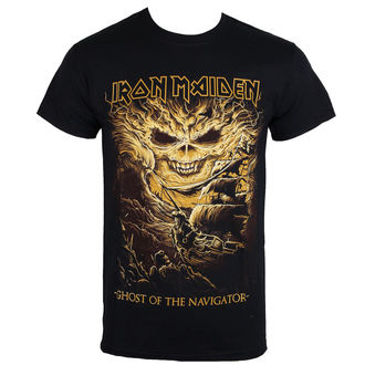 tee-shirt métal pour hommes Iron Maiden - Ghost of the Navigator - ROCK OFF, ROCK OFF, Iron Maiden