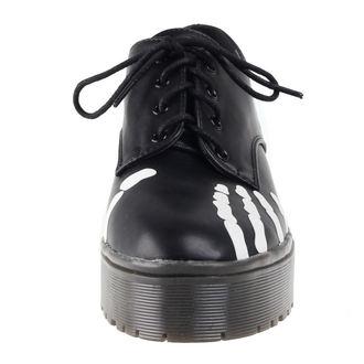 chaussures à semelles compensées pour femmes - Grave Robber Derby - IRON FIST, IRON FIST