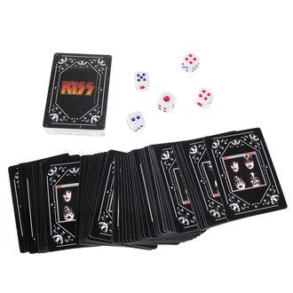 en jouant cartes ensemble + dé KISS - Iconic, Kiss