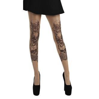 Collants PAMELA MANN - See, Hear, Speak No Evil Tattoo, PAMELA MANN
