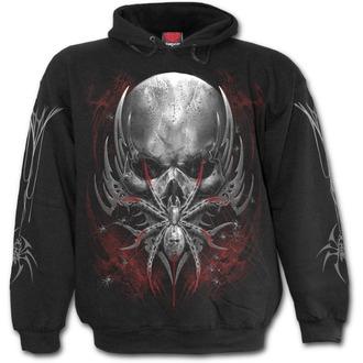 sweat-shirt avec capuche pour hommes - SPIDER SKULL - SPIRAL, SPIRAL