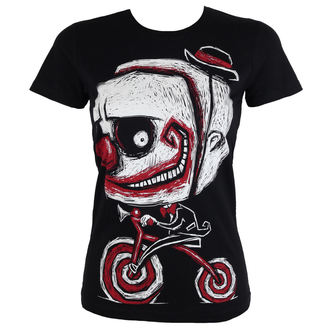 t-shirt hardcore pour femmes - Creep The Clown - Akumu Ink, Akumu Ink