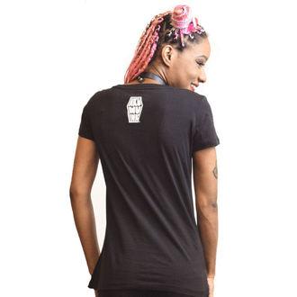 t-shirt hardcore pour femmes - Bone Collector - Akumu Ink, Akumu Ink