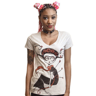 t-shirt aux femmes Akumu Ink - The Wounded, Akumu Ink