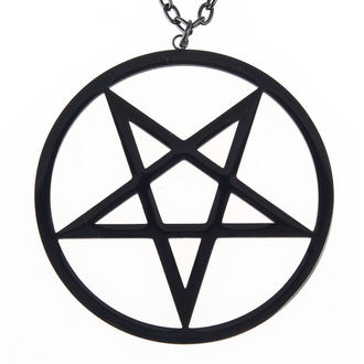 collier ETNOX - Big Plain Pentagram, ETNOX