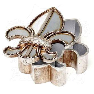 Décoration (bijoux boîte) ALCHEMY GOTHIC - Fleur De Lys, ALCHEMY GOTHIC
