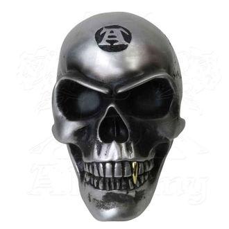 Décoration (crâne) ALCHEMY GOTHIC - Metalised Alchemist Skull, ALCHEMY GOTHIC