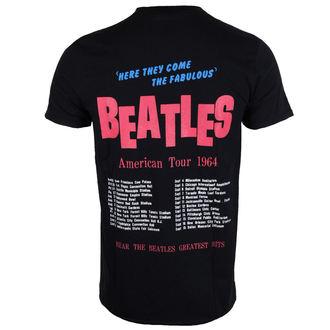 tee-shirt métal pour hommes Beatles - American Tour 1964 - ROCK OFF, ROCK OFF, Beatles