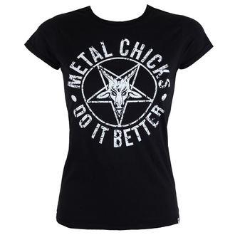 t-shirt hardcore pour femmes - Pentagram - METAL CHICKS DO IT BETTER, METAL CHICKS DO IT BETTER