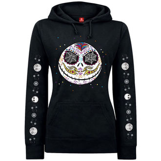 sweat-shirt avec capuche pour femmes Nightmare Before Christmas - Sugarskull Dots, NIGHTMARE BEFORE CHRISTMAS, Nightmare Before Christmas