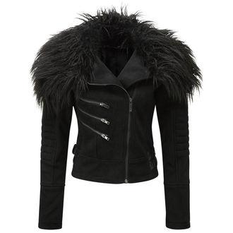 veste printemps / automne pour femmes - Selene Fur Biker - KILLSTAR