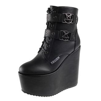 chaussures à semelles compensées pour femmes - Sabitha - KILLSTAR, KILLSTAR