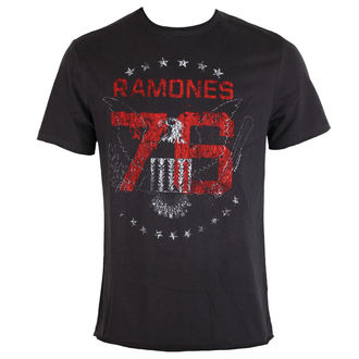 tee-shirt métal pour hommes Ramones - Charcoal - AMPLIFIED, AMPLIFIED, Ramones