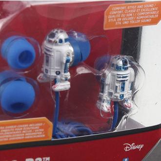 écouteurs Star Wars - R2-D2 - wht / Bleu, NNM, Star Wars