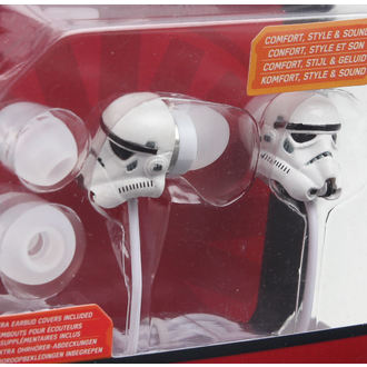 écouteurs Star Wars - Stormtrooper - wht, NNM, Star Wars