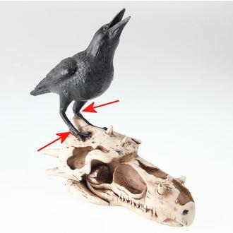décoration Crâne De Corvax - NENOW - ENDOMMAGÉ, Nemesis now