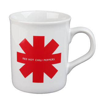 Coupe Red Hot Chili Peppers - Red Asterisk - blanc, Red Hot Chili Peppers