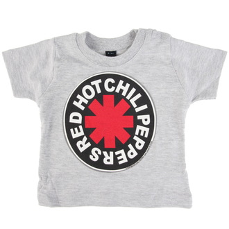 tee-shirt métal pour hommes enfants Red Hot Chili Peppers - Logo in Circle -, Red Hot Chili Peppers
