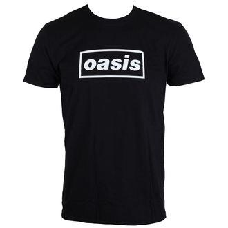 tee-shirt métal pour hommes Oasis - Black Logo - LIVE NATION, LIVE NATION, Oasis