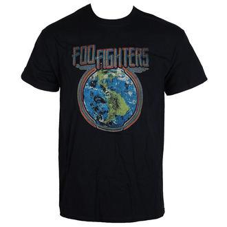 tee-shirt métal pour hommes Foo Fighters - Globe - LIVE NATION, LIVE NATION, Foo Fighters